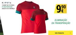 Promoção de Desporto no folheto de Decathlon em Alcobaça