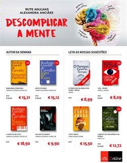 Ofertas Livros e lazer no folheto LEYA em Porto ( 10 dias mais )