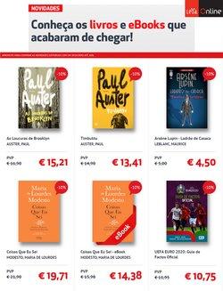 Ofertas de Livros e lazer no folheto LEYA (  Publicado hoje)