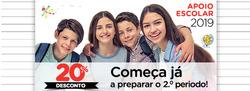 Promoção de Livros e lazer no folheto de LEYA em Funchal