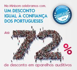 Promoção de MiniSom no folheto de Lisboa