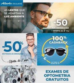 Ofertas de Óticas no folheto Alberto Oculista (  3 dias mais)