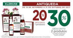 Promoção de Farmácias e Drogarias no folheto de Farmácia Pinto Leal em Queluz