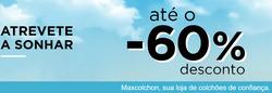 Promoção de Maxcolchon no folheto de Lisboa