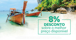 Promoção de Halcon Viagens no folheto de Lisboa