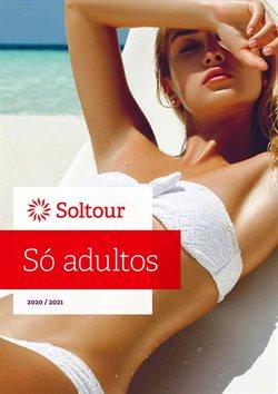 Ofertas Viagens no folheto Soltour em Lisboa ( Mais de um mês )