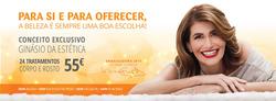Promoção de Bancos e serviços no folheto de BodyConcept em Alcabideche