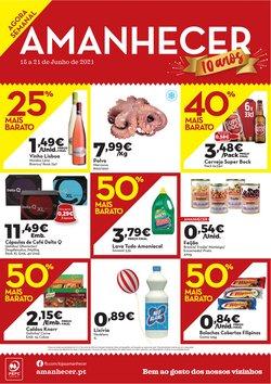 Ofertas de Supermercados no folheto Amanhecer (  Publicado ontem)
