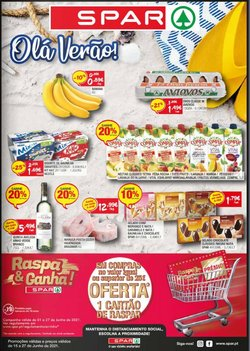 Ofertas de Supermercados no folheto SPAR (  Publicado ontem)