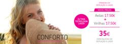 Promoção de Clínica do Pêlo no folheto de Lisboa