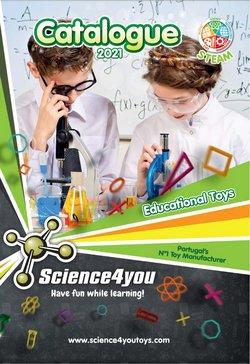 Ofertas de Bebés e brinquedos no folheto Science4you (  Mais de um mês)