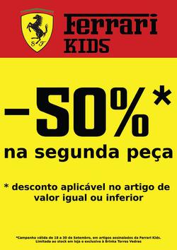 Promoção de Brinka no folheto de Braga