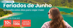Promoção de Logitravel no folheto de Lisboa