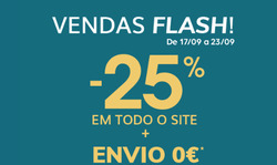 Promoção de Vertbaudet no folheto de Lisboa
