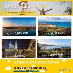 Ofertas de Vueling no folheto Vueling (  12 dias mais)