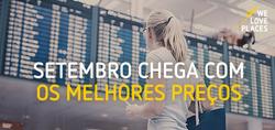 Promoção de Vueling no folheto de Lisboa