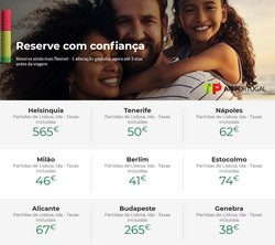 Ofertas de Viagens no folheto TAP (  13 dias mais)