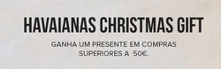Promoção de Havaianas no folheto de Lisboa