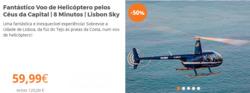 Promoção de Odisseias no folheto de Lisboa