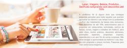 Promoção de LetsBonus no folheto de Lisboa