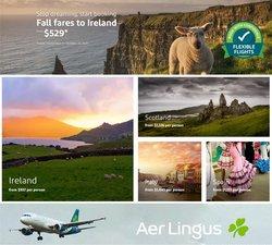 Ofertas de Aer Lingus no folheto Aer Lingus (  3 dias mais)