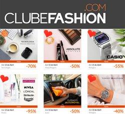 Ofertas de maquilhagem no folheto Clubefashion (  3 dias mais)