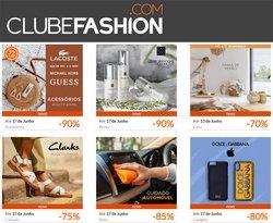 Ofertas de Roupa, sapatos e acessórios no folheto Clubefashion (  Expira hoje)