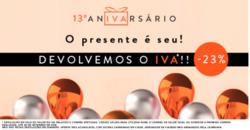 Promoção de Clubefashion no folheto de Lisboa