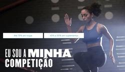 Promoção de MyProtein no folheto de Lisboa