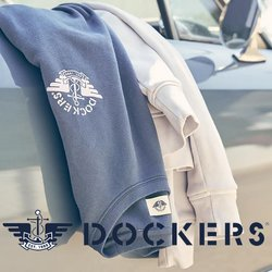 Ofertas Roupa, sapatos e acessórios no folheto Dockers em Setúbal ( Publicado hoje )