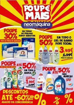 Ofertas Supermercados no folheto Neomáquina em Coimbra ( Publicado ontem )
