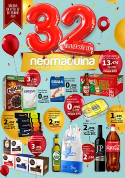 Ofertas de Neomáquina no folheto Neomáquina (  3 dias mais)