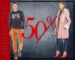 Promoção de BUS Urban Wear no folheto de Chaves
