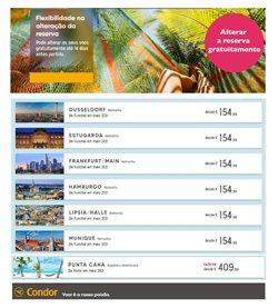 Ofertas Viagens no folheto Condor em Braga ( 19 dias mais )