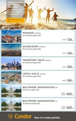 Ofertas de Viagens no folheto Condor (  Mais de um mês)