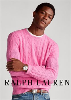 Folheto Ralph Lauren ( Mais de um mês )