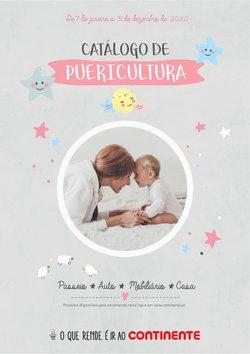 Folheto Continente Bom dia em Porto ( Mais de um mês )