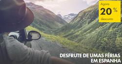 Promoção de Europcar no folheto de Lisboa