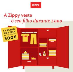 Promoção de Zippy no folheto de Lisboa