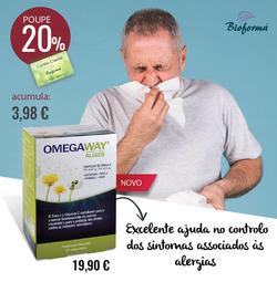 Promoção de Bioforma no folheto de Funchal