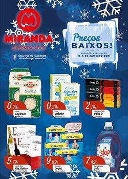 Folheto Miranda Supermercados ( 7 dias mais )