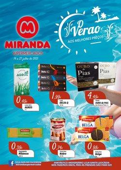 Ofertas de Miranda Supermercados no folheto Miranda Supermercados (  Expira hoje)