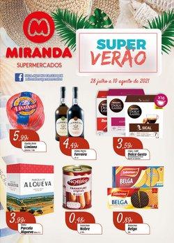 Ofertas de Miranda Supermercados no folheto Miranda Supermercados (  Publicado hoje)