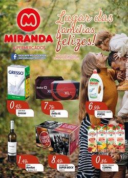 Ofertas de Miranda Supermercados no folheto Miranda Supermercados (  2 dias mais)