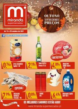 Ofertas de Miranda Supermercados no folheto Miranda Supermercados (  9 dias mais)