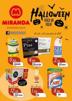 Ofertas de Miranda Supermercados no folheto Miranda Supermercados (  5 dias mais)