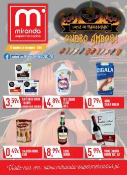 Ofertas de Miranda Supermercados no folheto Miranda Supermercados (  Publicado ontem)