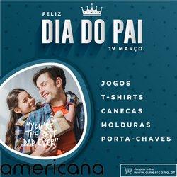 Ofertas Livros e lazer no folheto Americana em Porto ( 11 dias mais )