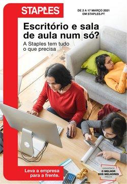 Folheto Staples ( Publicado ontem )