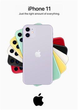 Ofertas Informática e eletrónica no folheto Apple ( Mais de um mês )